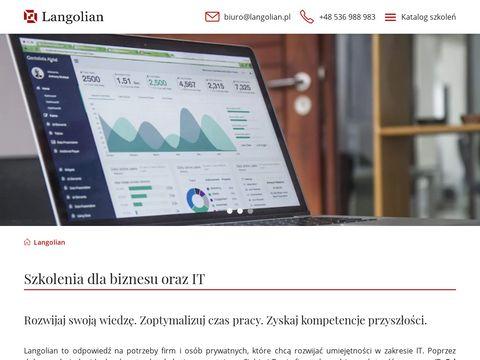 Langolian.pl kurs SQL