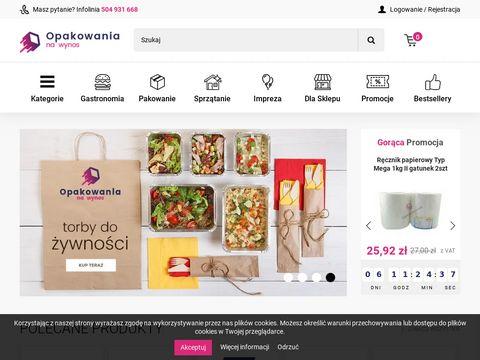 Opakowanianawynos.pl pojemniki jednorazowe