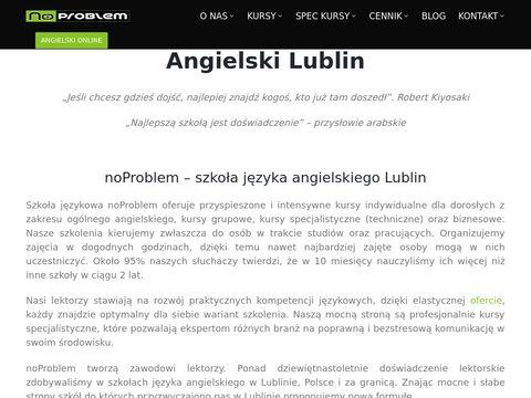 Noproblem.edu.pl szkoła języka angielskiego