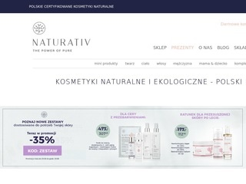Naturativ.pl kosmetyki naturalne