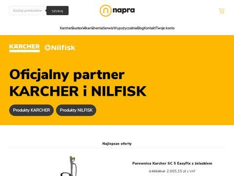 Napra.pl szorowarki Karcher
