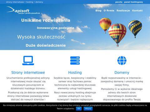 Apisoft.pl projektowanie stron internetowych