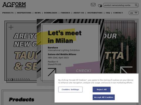 Aqform.com designerskie lampy wiszące