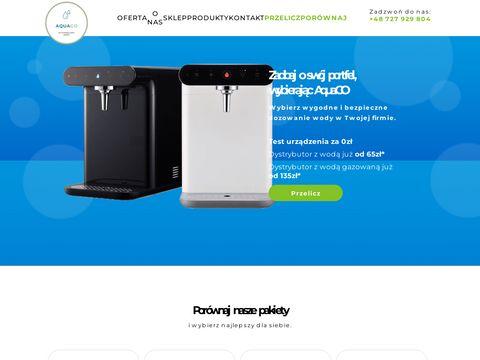 Aquago.com.pl dystrybutor wody gazowanej