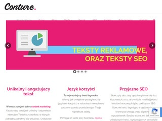 Conture.pl agencja content marketing