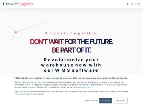 Consafe Logistics innowacje magazynowe