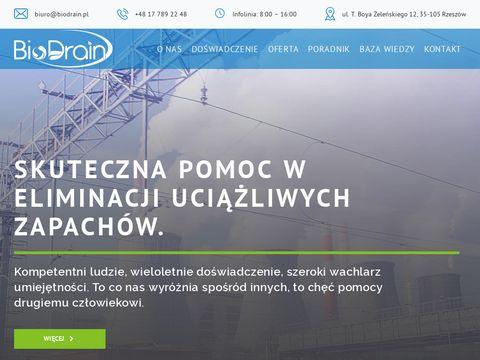 Biodrain.pl laboratoria zapachu