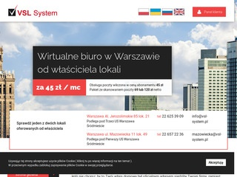 VSL-System wirtualne biura
