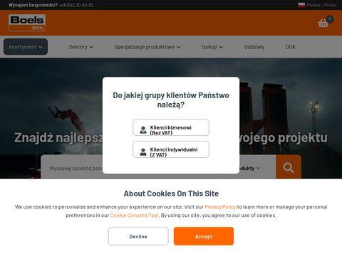 Boels.pl wynajem maszyn