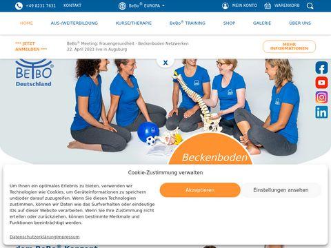 Beckenboden.com BeBo trening dna miednicy