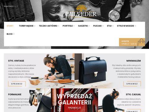Belveder.com.pl polska galanteria
