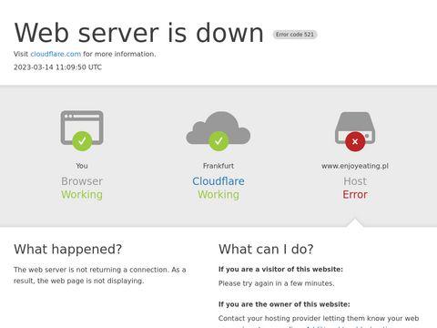 Enjoyeating.pl dieta z dowozem Kraków