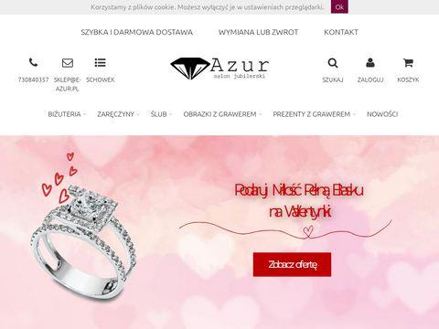 E-azur.pl wielobarwne obrączki ślubne sklep