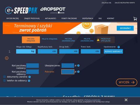 E-speedpak.net kurier dla sklepów internetowych