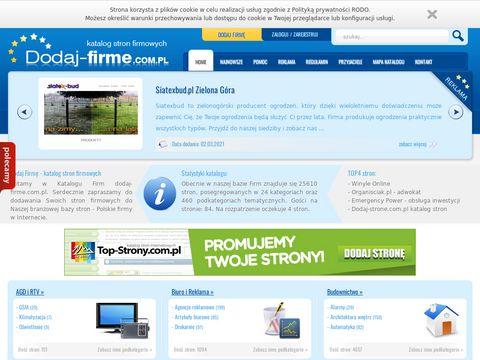 Dodaj-firme.com.pl - reklama dla firm