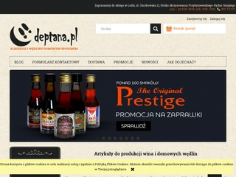 Deptana.pl drożdże gorzelnicze hurt