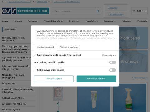 Dezynfekcja24.com hurtownia medyczna