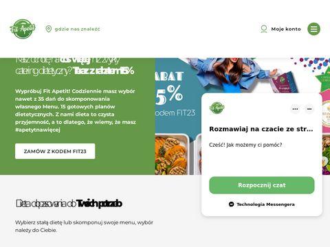 Fitapetit.com.pl catering wegański Warszawa