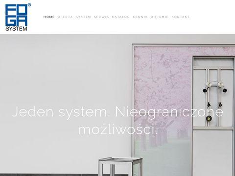 Foga.pl systemy profili aluminiowych