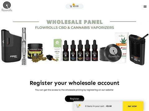 Flowrolls produkty CBD