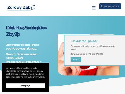 Zdrowy-zab.pl stomatolog Kraków