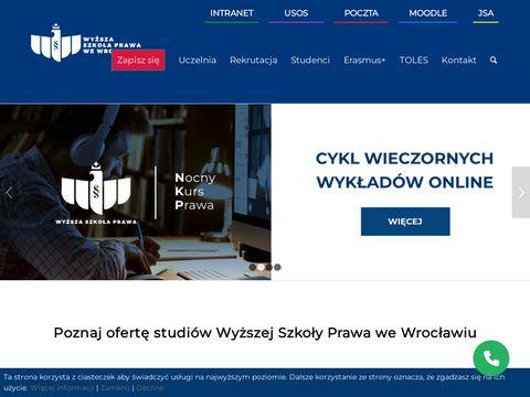 Prawowroclaw.edu.pl studia