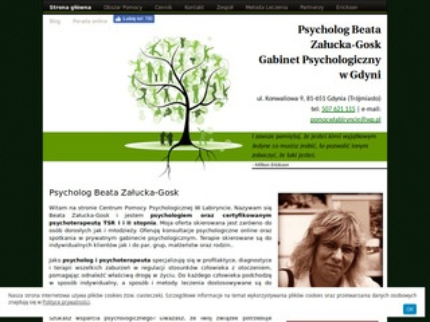 Pomocwlabiryncie.pl psycholog w Gdyni