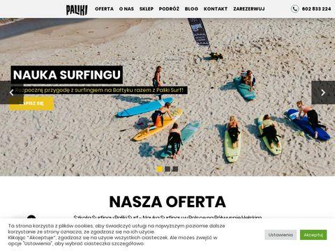 Palikisurf.pl surfing nauka