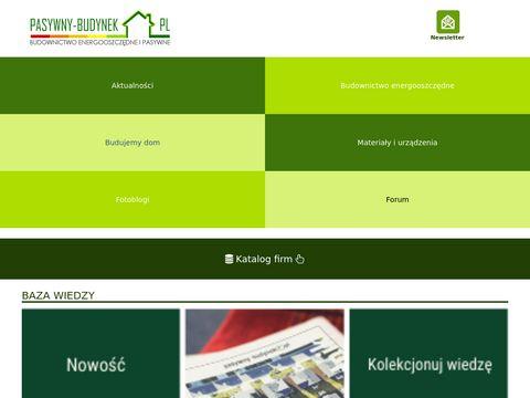 Pasywny-budynek.pl projekty domów