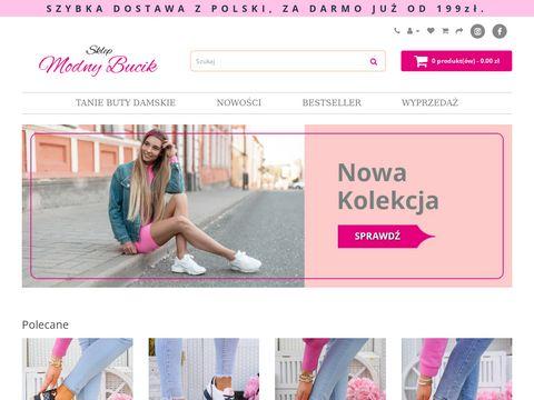Sklep z damskim obuwiem - sklep-modnybucik.pl