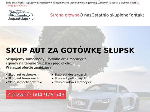 Skupautslupsk.pl za gotówkę