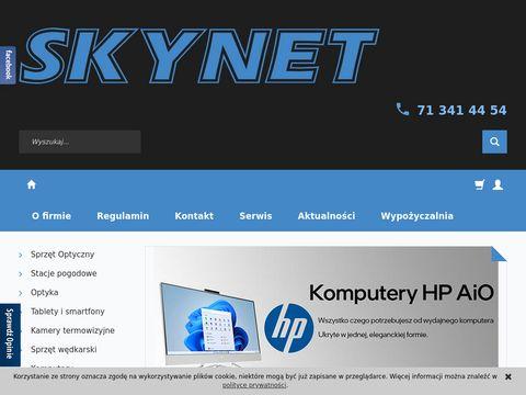 Skynet.pl mikroskop Wrocław