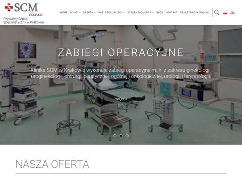 Scmkrakow.pl szpital prywatny