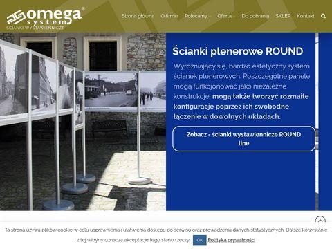 Omega System ścianki reklamowe
