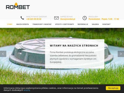 Rombet.pl szamba betonowe