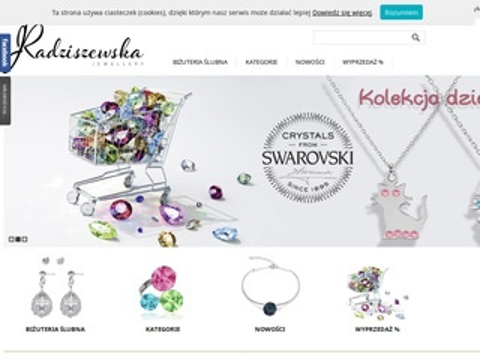 Radziszewska.com biżuteria ślubna Jewellery