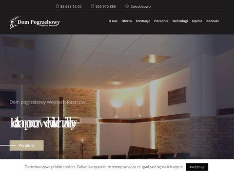 Raszczuk-pogrzeby.pl zakład Białystok
