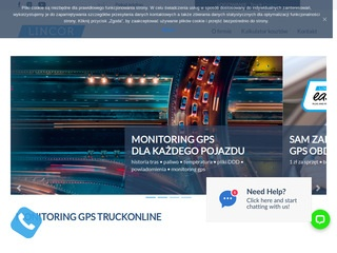 Truckonline.pl monitoring GPS