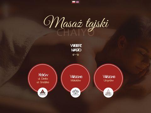 Tajskimasaz.pl Chaiyo