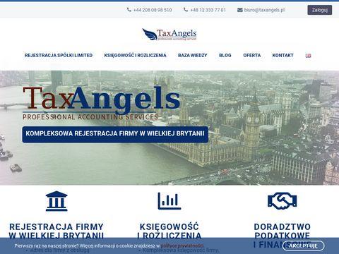 Taxangels.pl rejestracja firmy w Anglii