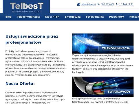 Telbest.pl sieci światłowodowe