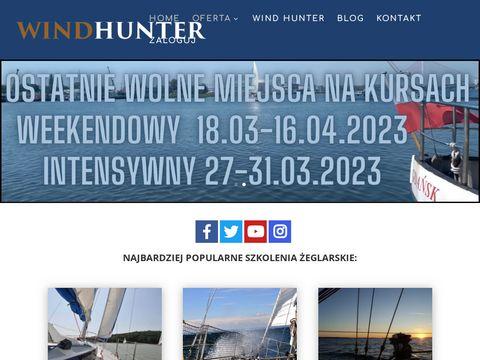 Wind-hunter.pl szkolenia żeglarskie