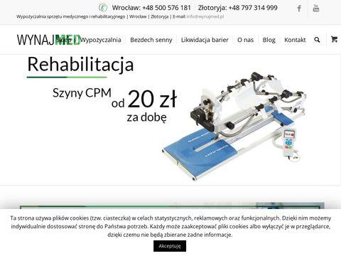 Wynajmed.pl sprzęt medyczny Poznań