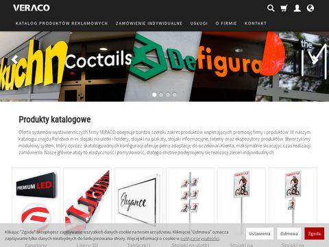 Veraco.pl systemy wystawiennicze Gdańsk