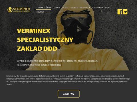 Verminex.pl odławianie kun