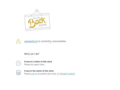 Vagparts.pl internetowy sklep motoryzacyjny