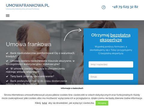 Umowafrankowa.pl pozbądź się problemu