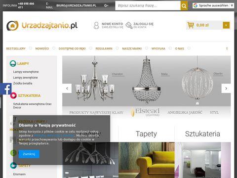 Urzadzajtanio.pl plafony zewnętrzne