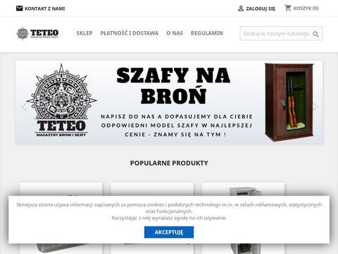 Teteo.pl metalowe sejfy na broń