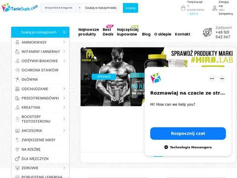 Taniesuple.com suplementy i odżywki online